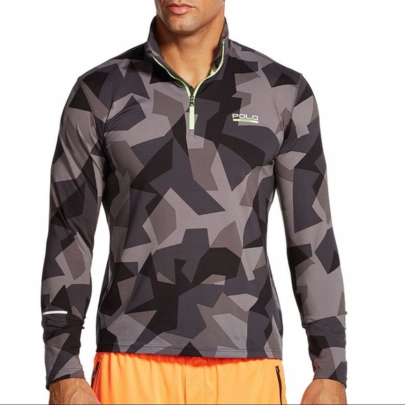 9885ed2f Polo by Ralph Lauren Shirts | Polo Sport Pullover Black Camo Print ...